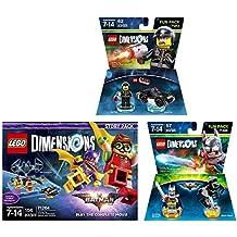 LEGO Batman Movie Story Pack + Excalibur Batman Fun Pack + The Lego Movie Bad Cop Fun Pack - LEGO Dimensions - Not Machine Specific