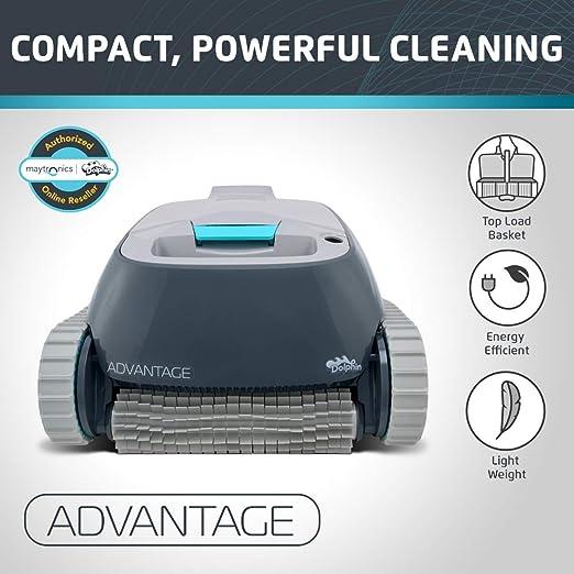Amazon.com: Limpiador automático de piscinas robóticas ...