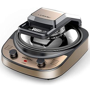 Huoduoduo Freidora, Freidora, Cocina Casera Wok Máquina De Cocina Totalmente Automática De Múltiples Funciones Inteligente De Cocina Robot, 1860W: Amazon.es