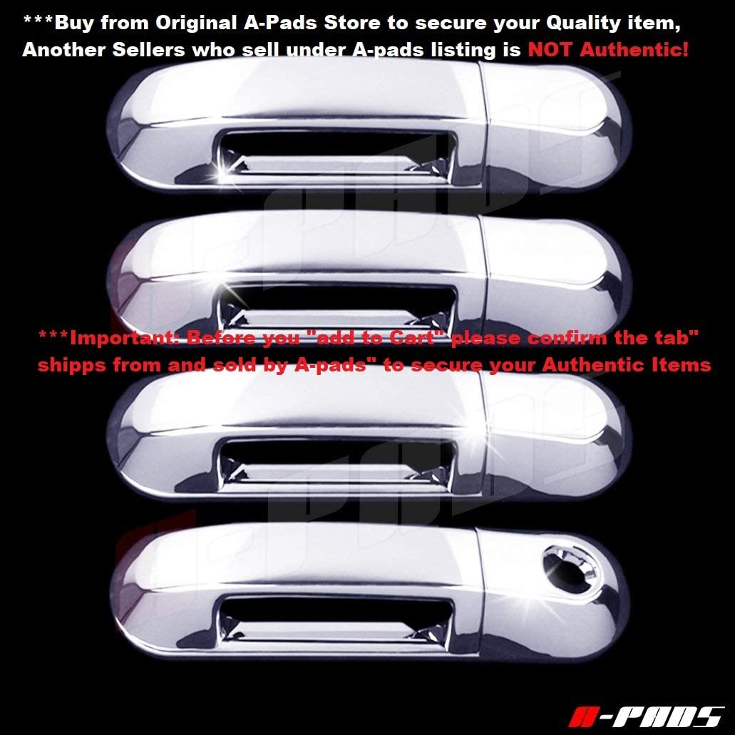 FOR FORD EXPLORER LINCOLN AVIATOR MERCURY MOUNTAINEER CHROME DOOR HANDLE COVERS