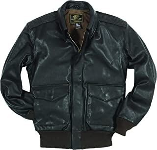 product image for U.S.A.F. 21st. Century A-2 Brown Leather Jacket