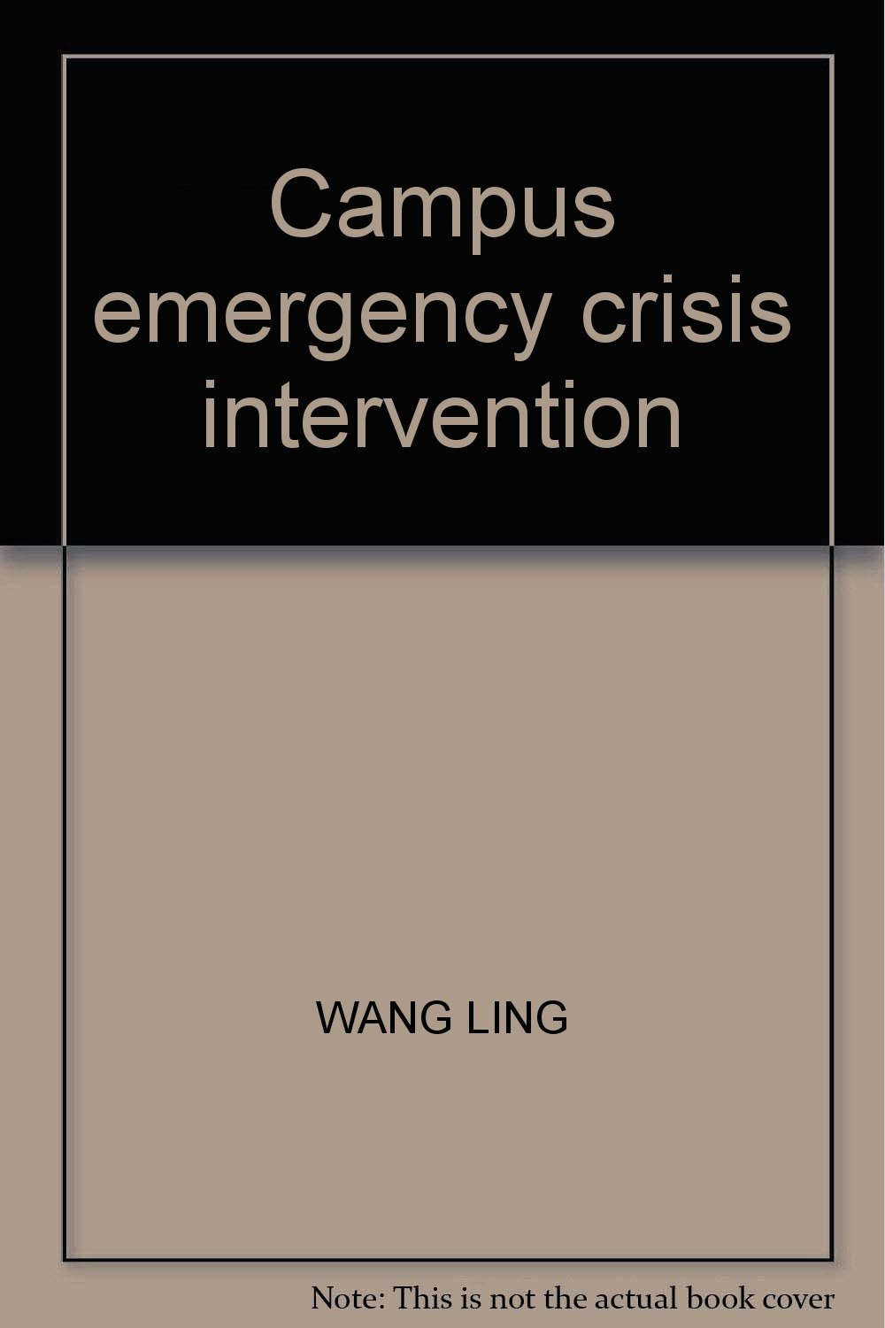 Campus emergency crisis intervention PDF