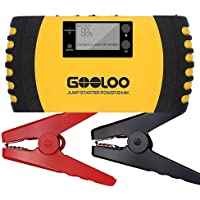 Gooloo GP200 1500A Peak 20800mAh Portable Car Jump Starter with USB Quick Charge 3.0 (Yellow)