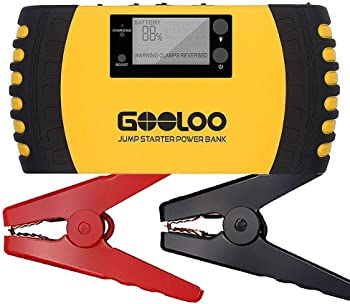 Gooloo GP200 1500A Peak 20800mAh Portable Car Jump Starter