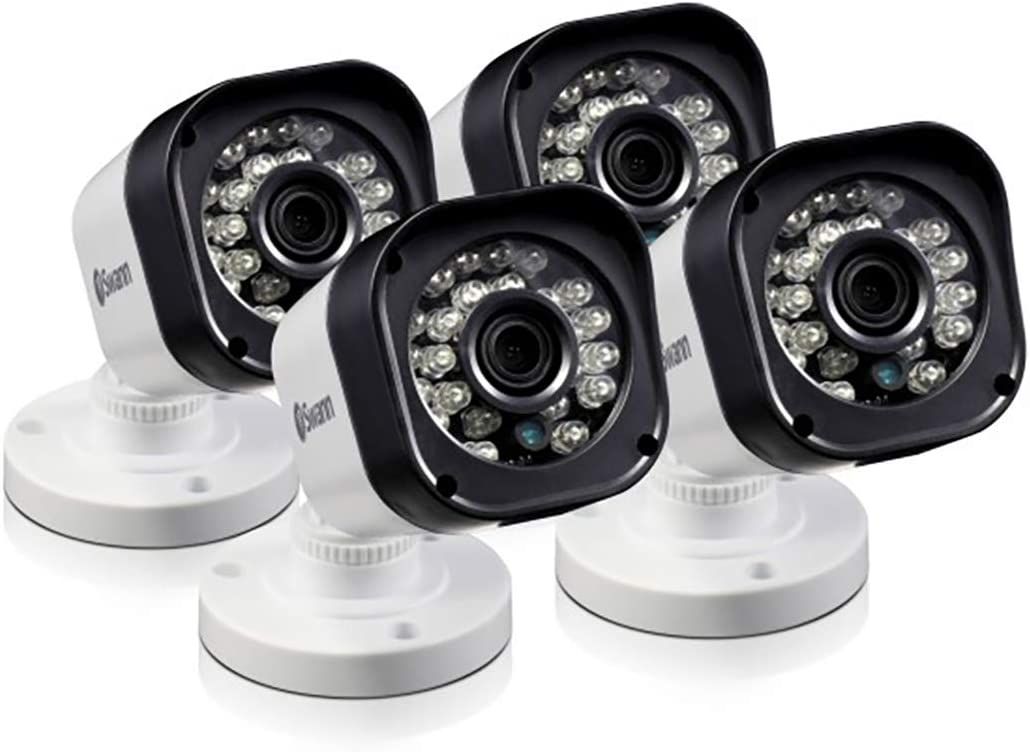 Swann SRPRO-T835WB4 720p HD CCTV Bullet Security CCTV Camera – 4 Pack