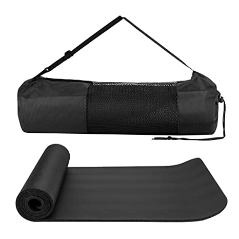 Amazon.com : Directsale92 10mm Yoga Mat Thick NBR Non-Slip ...