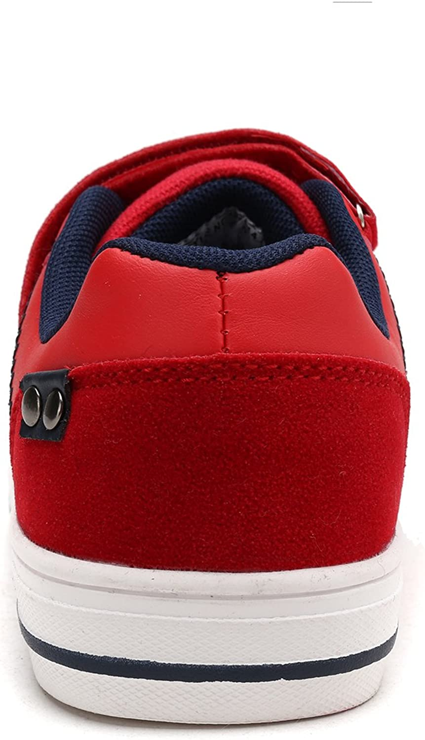 DREAM PAIRS Toddler Boys 151014-K Red Navy School Loafers Sneakers Shoes 6 M US Toddler
