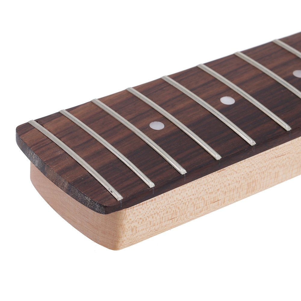 ammoon 21 Fret Bass Maple Neck Rosewood Fingerboard for Fender JAZZ Replacement by ammoon (Image #5)