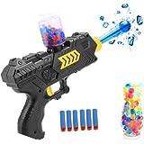 CloverTale 2-in-1 Multifunction Foam Toy Blaster Gun Dart Gun for Kids Shooting Gun with 6 PCS Soft EVA Bomb and 2000PCS Polymer Ballsfor Kids Hand Gun Toy
