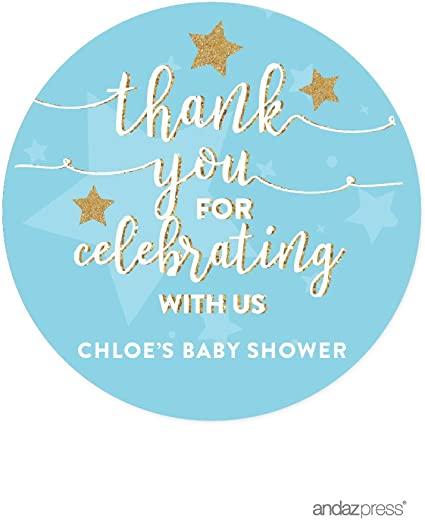 PERSONALISED BABY SHOWER PARTY FAVOUR STICKERS-LABELS-CONFETTI /& GARLANDS