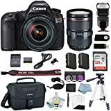 Canon EOS 5Ds DSLR Camera Kit With 24-105 L IS Lens + Canon CarePak PLUS 13 Month Damage Protection + Professional Accessory Bundle - Including EVERYTHING You Need To Go Pro