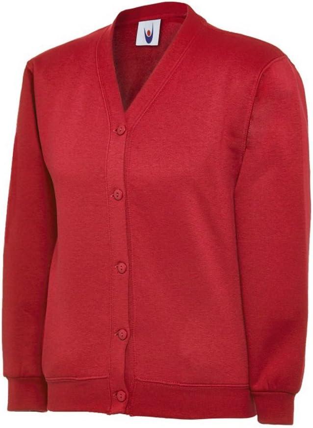 Uneek UC207 Polyester Cotton Unisex-Children Cardigan
