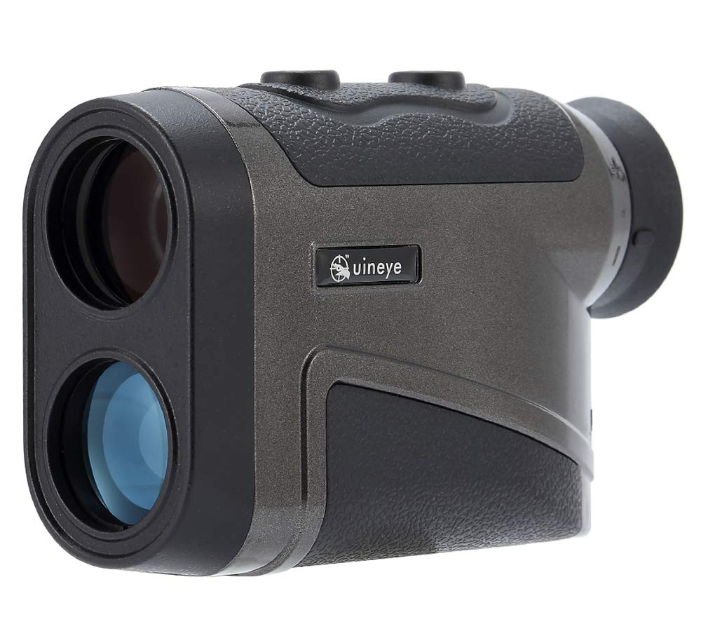 Golf Rangefinder - Range :1950, 1600, 850 Yards, Bluetooth Compatible Laser Range Finder with Height, Angle, Horizontal Distance Measurement Perfect for Hunting, Golf, Engineering Survey (1950Black) by Uineye