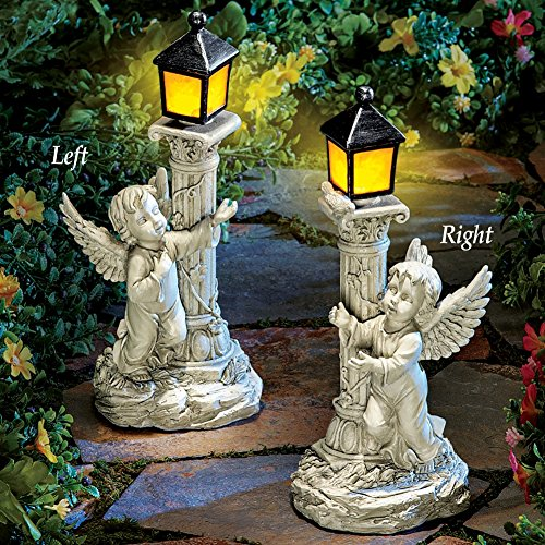 Outdoor Lighted Angel Yard in US - 4