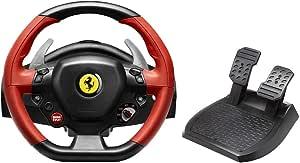 Kit Volante e Pedal Thrustmaster Ferrari 458 Spider para Xbox One