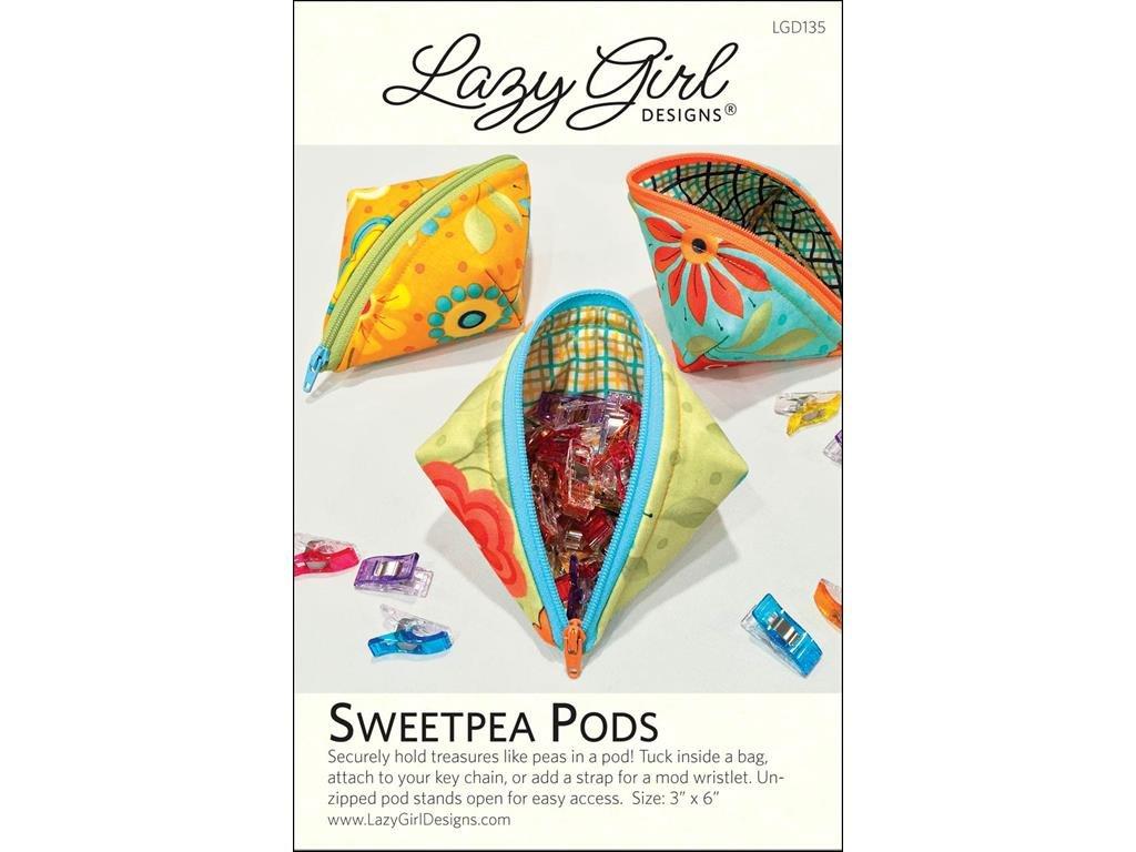 Amazon.com: Lazy Girl Design Sweetpea Pods Ptrn: Arts, Crafts & Sewing