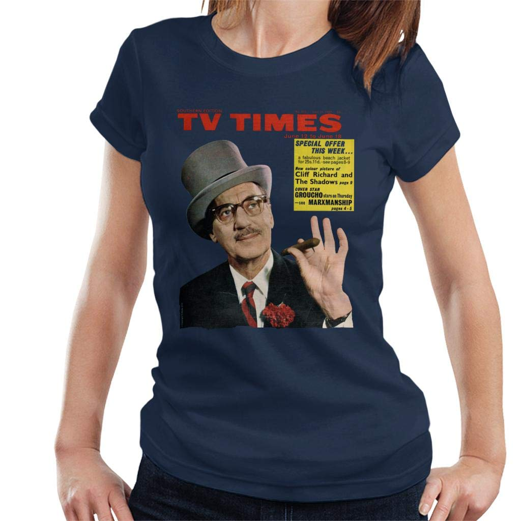 Tv Times Groucho Marx 1965 Cover T-shirt
