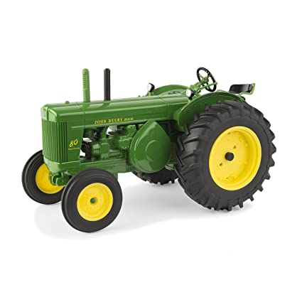 Amazon.com: John Deere 1/16 80 Tractor: Jardín y Exteriores