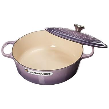 Le Creuset LS2552-30BPSS Round Wide Dutch Oven, 6-3/4 quart, Provence
