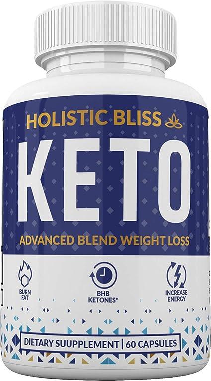 Amazon.com: Holistic Bliss Keto - Grasa de quemado rápido para la ...