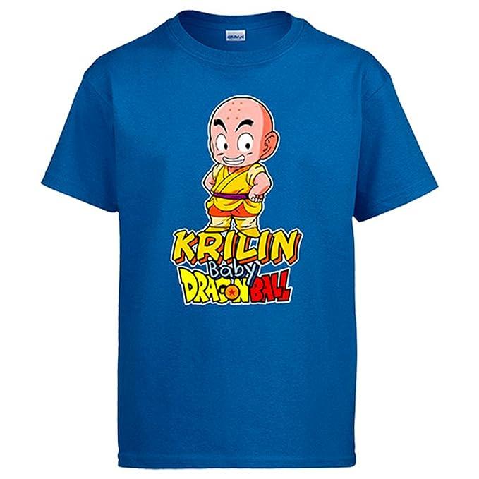 Diver Camisetas Camiseta Krilin Sonriendo Baby Dragon Ball ...