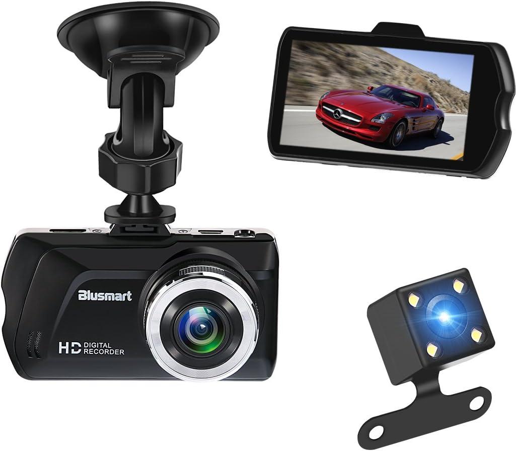 Dashcam 1080P Full HD,MoreChioce 150 Grad Weitwinkel Dashcam mit G-Senor Park/überwachung Loop-Aufnahme Bewegungserkennung Unterst/ützungs-TF-Karte