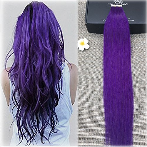 Full Hair Purple Extensions Fashion product image