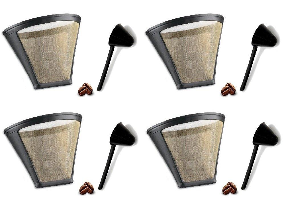 Repuesto Filtro De Café permanente Cuisinart GTF-4 oro tono filtro ...