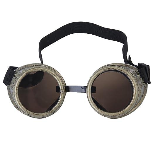 Rustica Ciber Gotico Cosplay Gafas Fotos Protectoras Soldadura jq3R5LSc4A