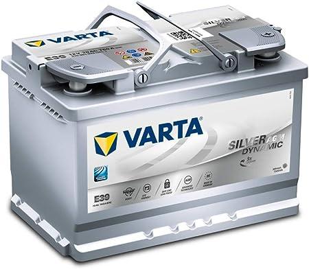 Varta Silver Dynamic AGM - Batteria Auto, 70 Ah, 12V: Amazon.it
