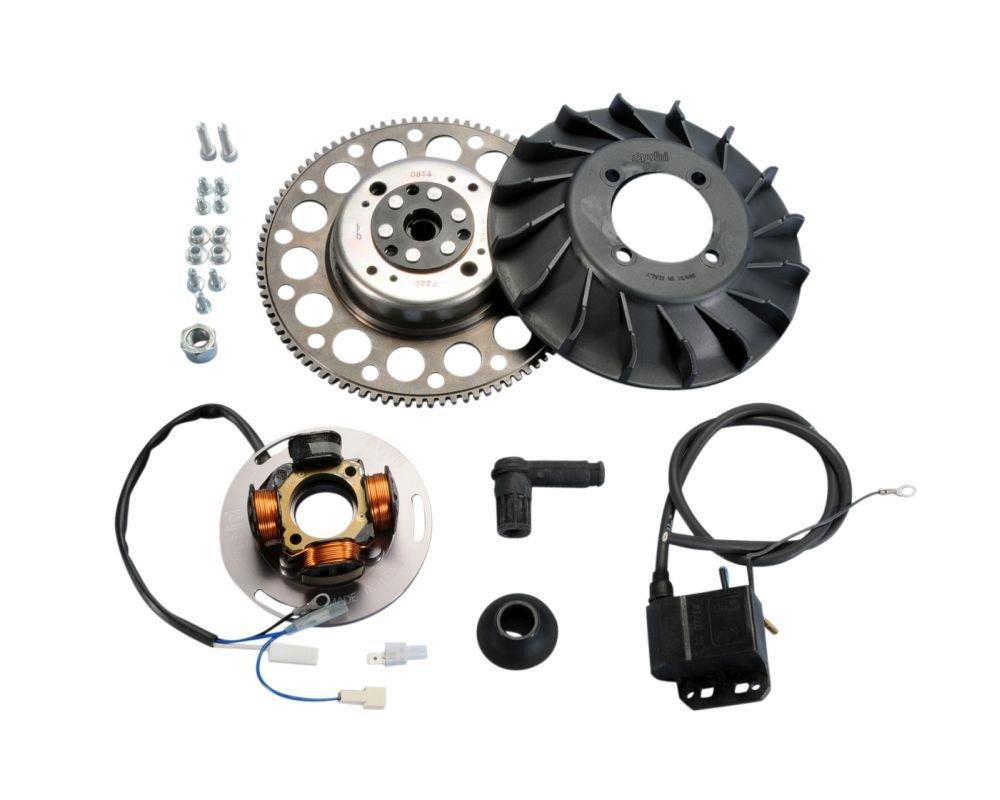 Polini encendido Analog con luz para Vespa PX 125 S/200 s, Sprint: Amazon.es: Coche y moto