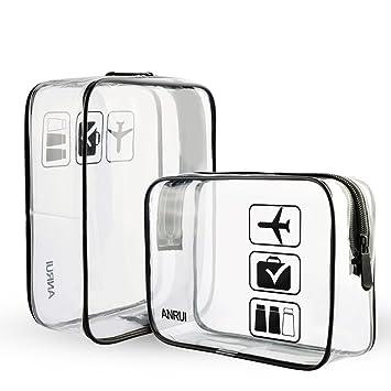 2pcs/Pack Toiletry Bag Travel Set