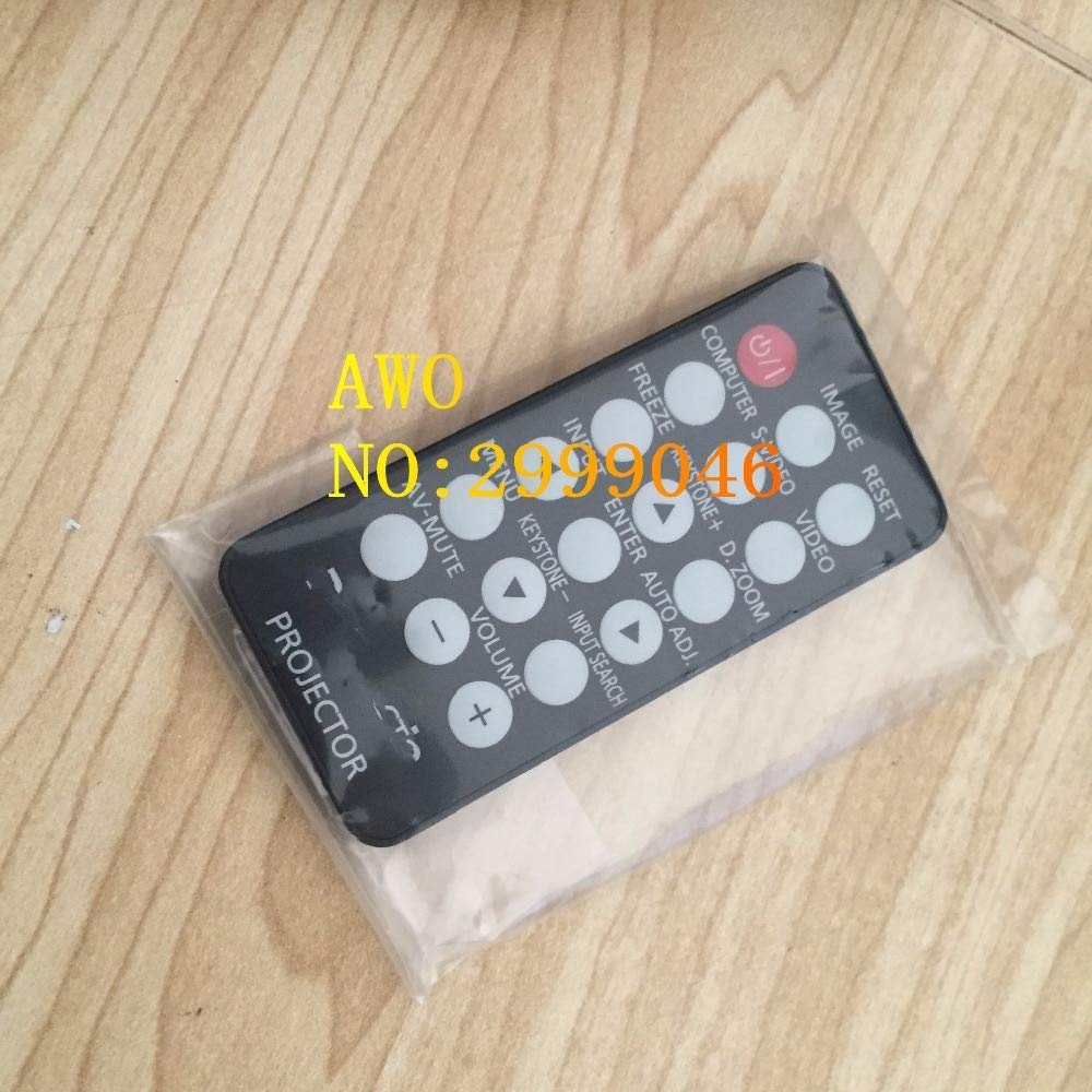 Calvas Brand new remote control Original REPLACEMENT For PANASONIC PT-LS26 PT-LS25DU PT-LS26E PT-SD2600 Projector series