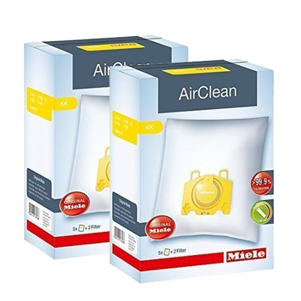 Miele Type KK IntensiveClean Plus FilterBags - S140-S168 - S190-S198 - 2 Pack