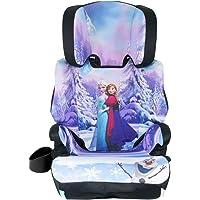KidsEmbrace High-Back Booster Car Seat, Disney Frozen Elsa and Anna