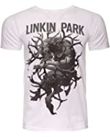 Offizielles T-Shirt Linkin Park weiß Geweih The Hunting Party alle Größen