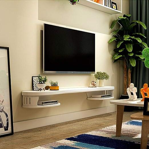 LRZS - Mueble de Pared Minimalista para televisor, Estante de Fondo, Mueble de Sala de Estar, Dormitorio, partición de Madera Maciza: Amazon.es: Hogar