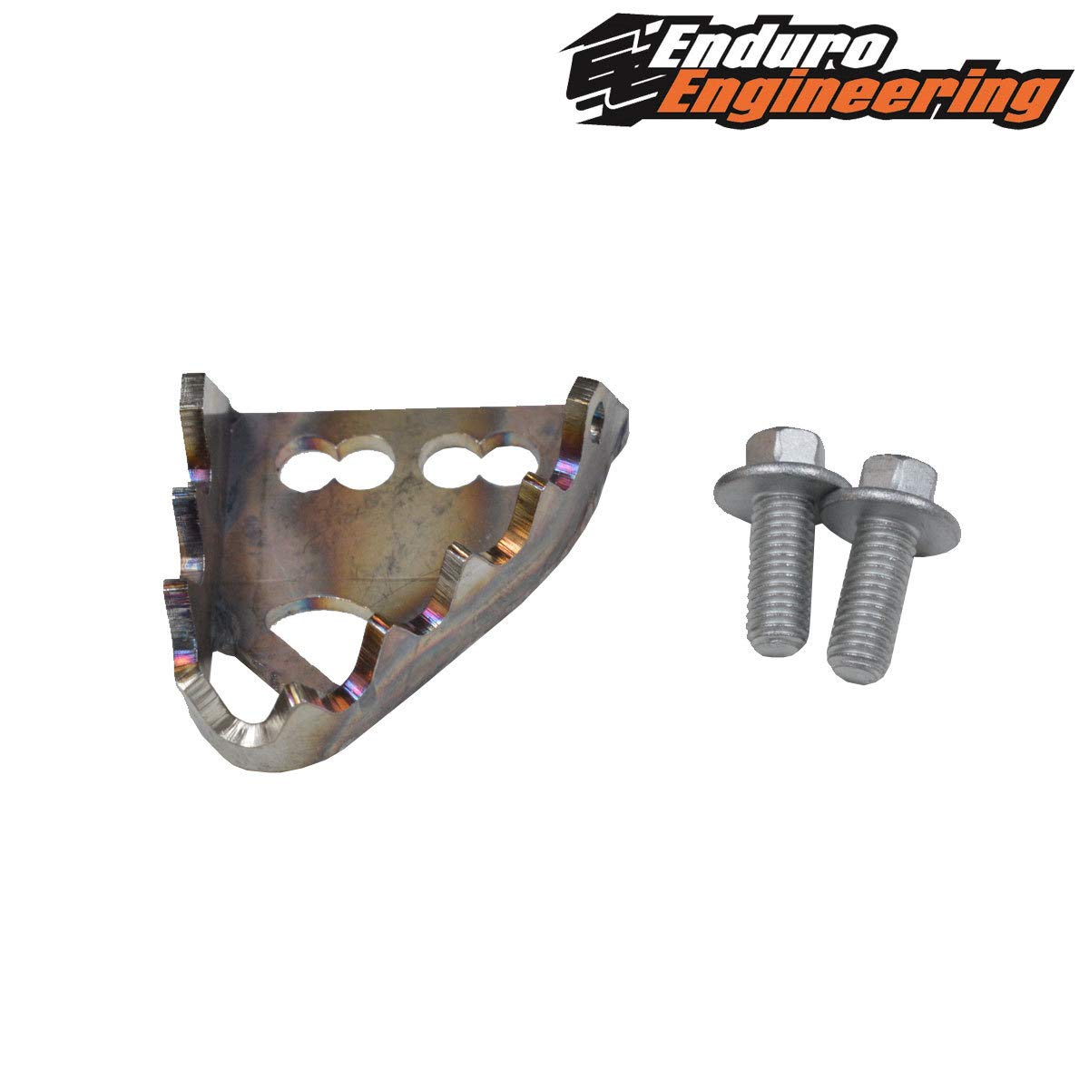 Enduro Engineering Brake Pedal Tip - Replacement Fits: Beta 2005-2019 RR/RR-S/Xtrainer Sherco 2013-2019 125-500 SC/SC-F/SE-R/SEF-R/Factory by Enduro Engineering