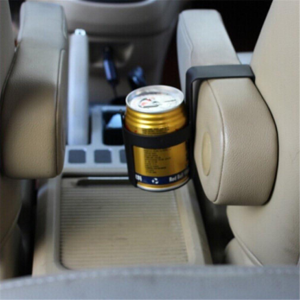 Yinew Schwarzer Auto Multifunktionsgetränkeständer Koks Gestell Halter Mehrzweck Auto Tür Mount Getränke Flaschenbecher Halter Stand Küche Haushalt