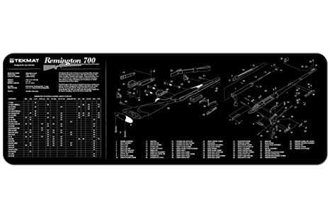 Stupendous Amazon Com Tekmat Remington 700 Cleaning Mat 12 X 36 Thick Wiring Digital Resources Otenewoestevosnl