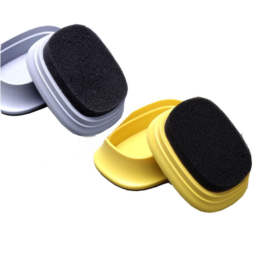 Cepillo de limpieza de zapatos portátil Set ideal para zapatos de limpieza 2 piezas Black Temptation