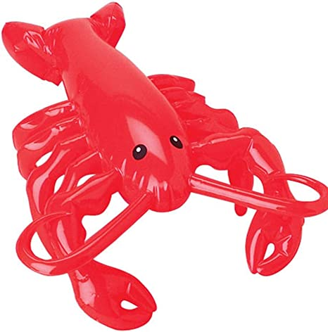 U.S. Toy Inflatable Lobster Toy