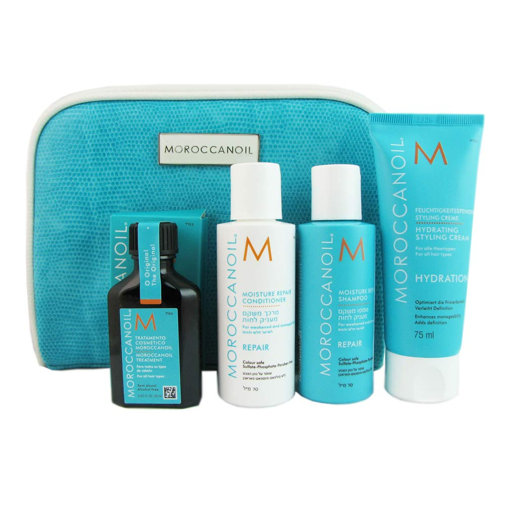 Moroccanoil Travel Kit, 5 Count