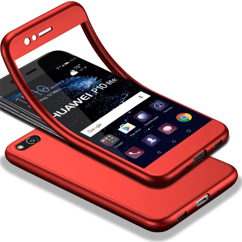 Amazon.com: GUANHAO Case for Huawei P10 Lite, 360 Degrees ...