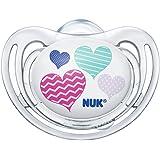 德国NUK安抚奶嘴 舒适型 正常型 (颜色随机)(适用6-18个月)