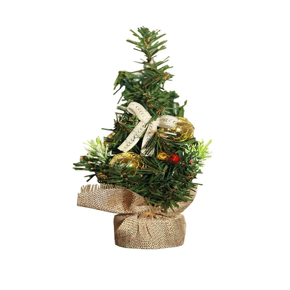 Amazon Com Mxxgmyj Mini Christmas Tree Decorations Artificial