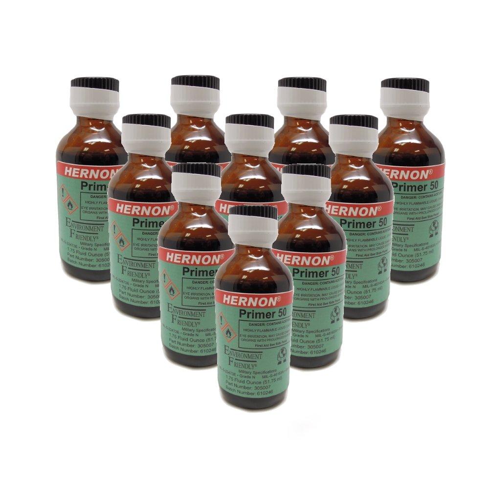 Hernon EF PRIMER 50-10 Single Component DEF Adhesive - 1.75 oz. Bottle with pump 10-pack