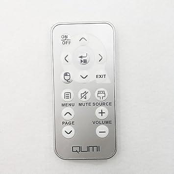 Nuevo mando a distancia original Vivitek Qumi Q5 Q7 Q6 Q4 Mando a ...