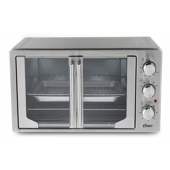 amazon com oster tssttvfdxl manual french door oven stainless rh amazon com Walmart Toaster Oven with Rotisserie Black and Decker Toaster Oven