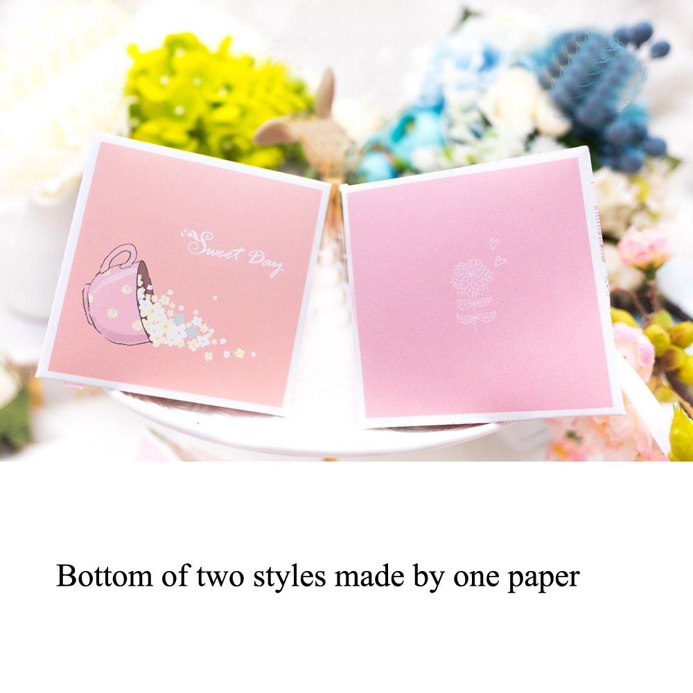 Amazon.com: Moleya 50pcs Floral Rustic Wedding Candy Favor Paper ...